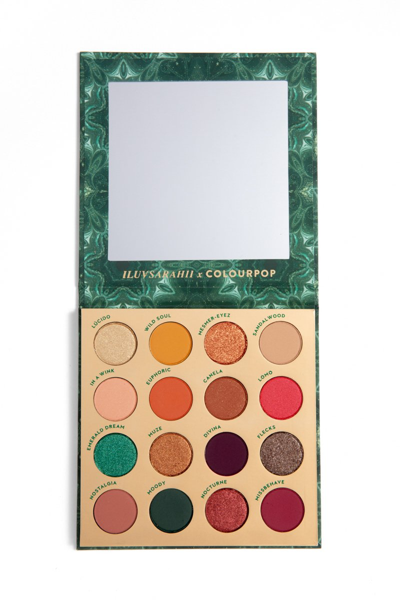 ColourPop Cosmetics palette