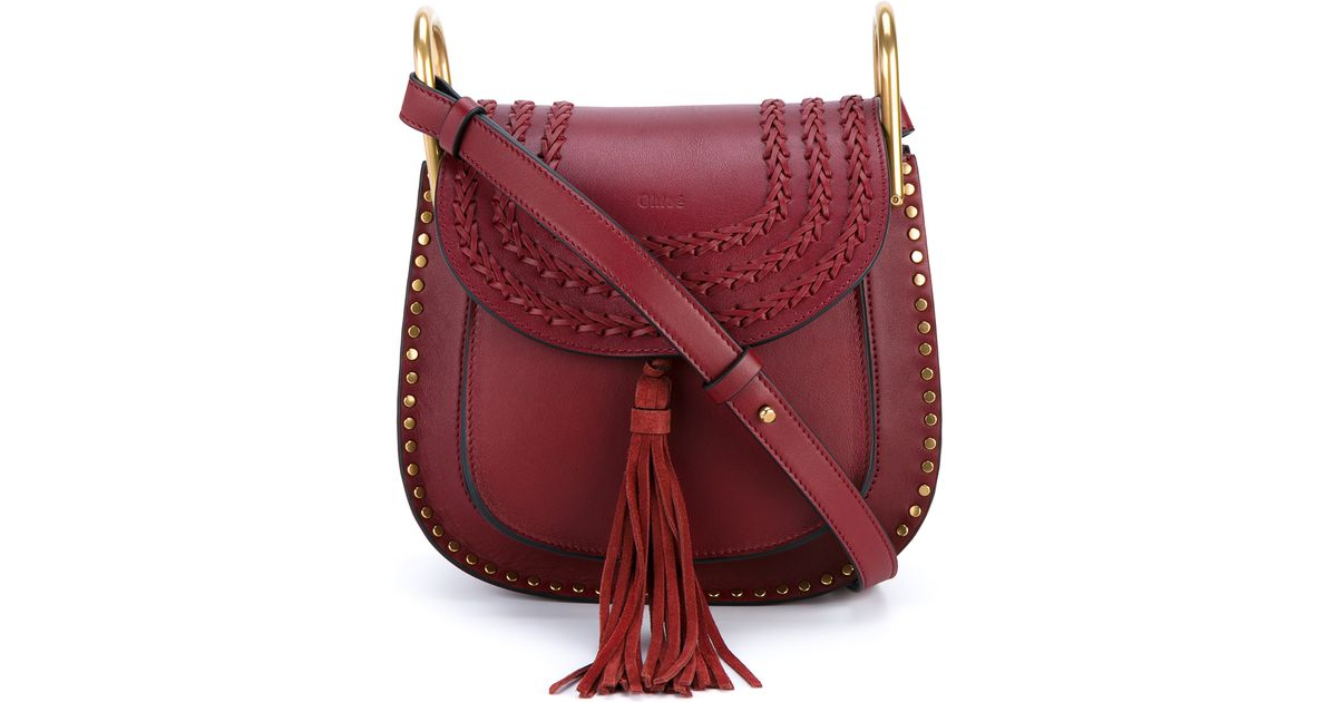 Chloé burgundy bag