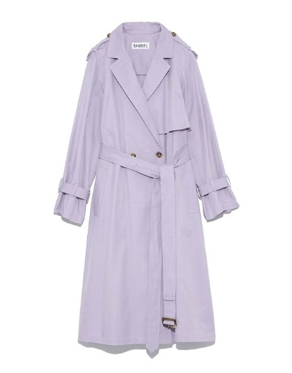 Snidel Purple Trench