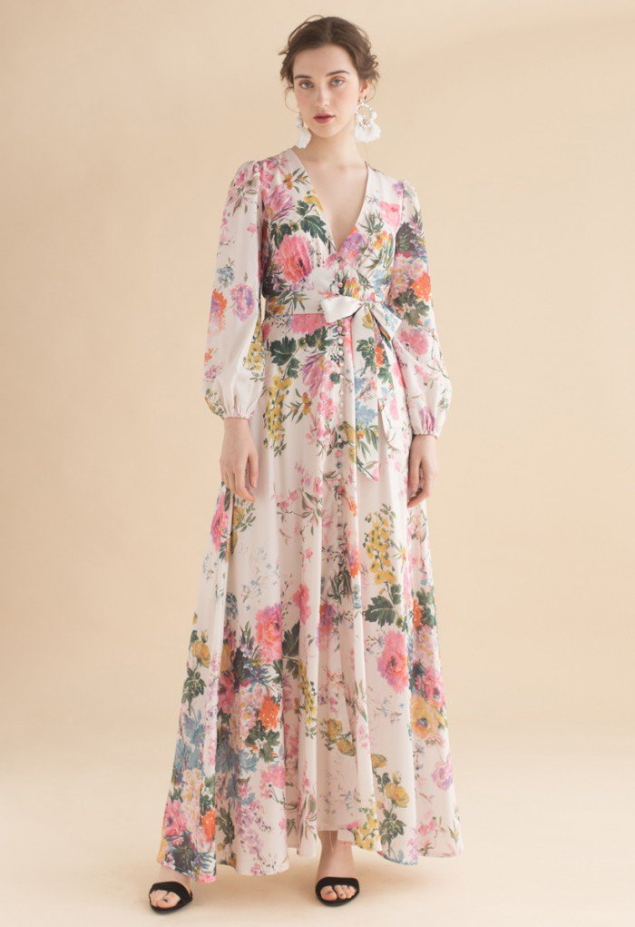 Chicwish floral dress