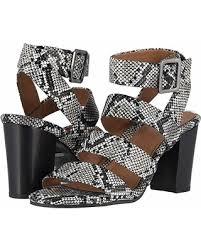 Blaire heeled sandal snake