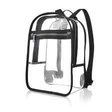 Samsonite clear backpack