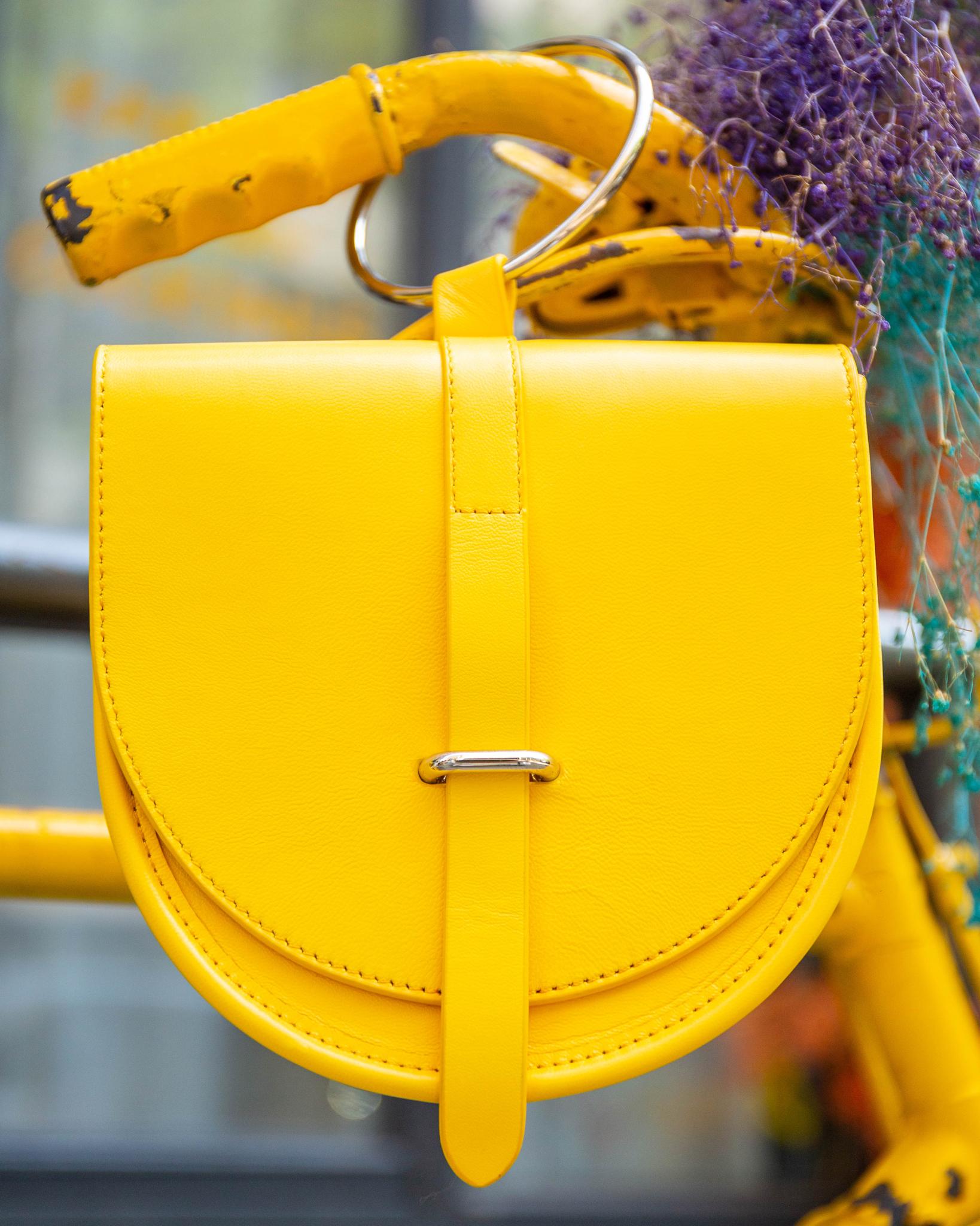Yellow O-ring bag