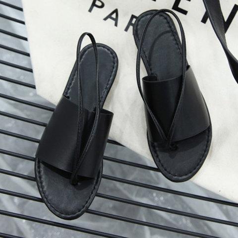 Black Celine sandals