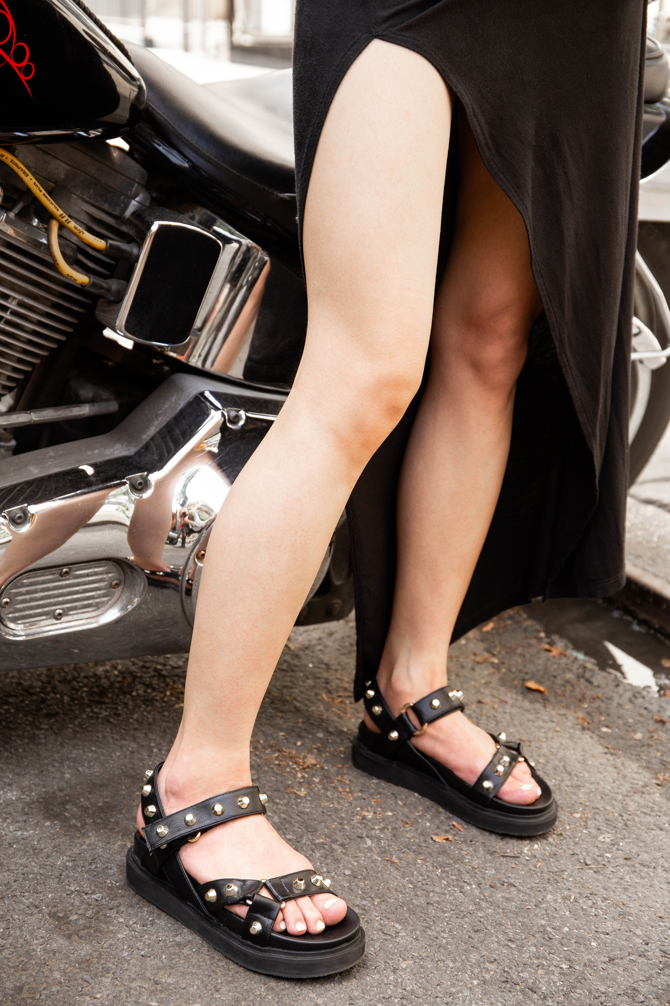 Chunky sole sandal