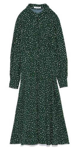 Snidel green dress