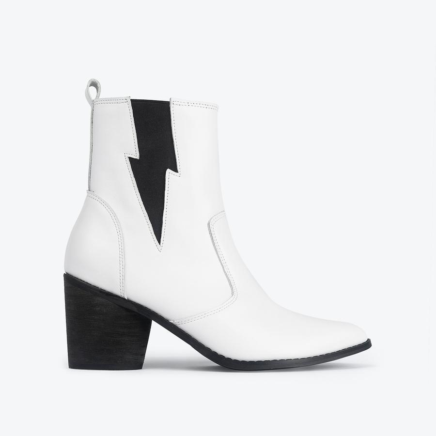 White Chelsea Boot