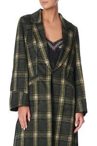 Camilla Topstitched jacket