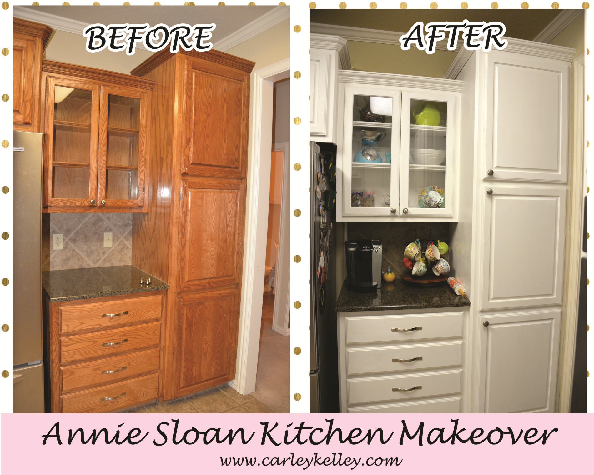 Annie Sloan Kitchen Makeover Carley Kelley