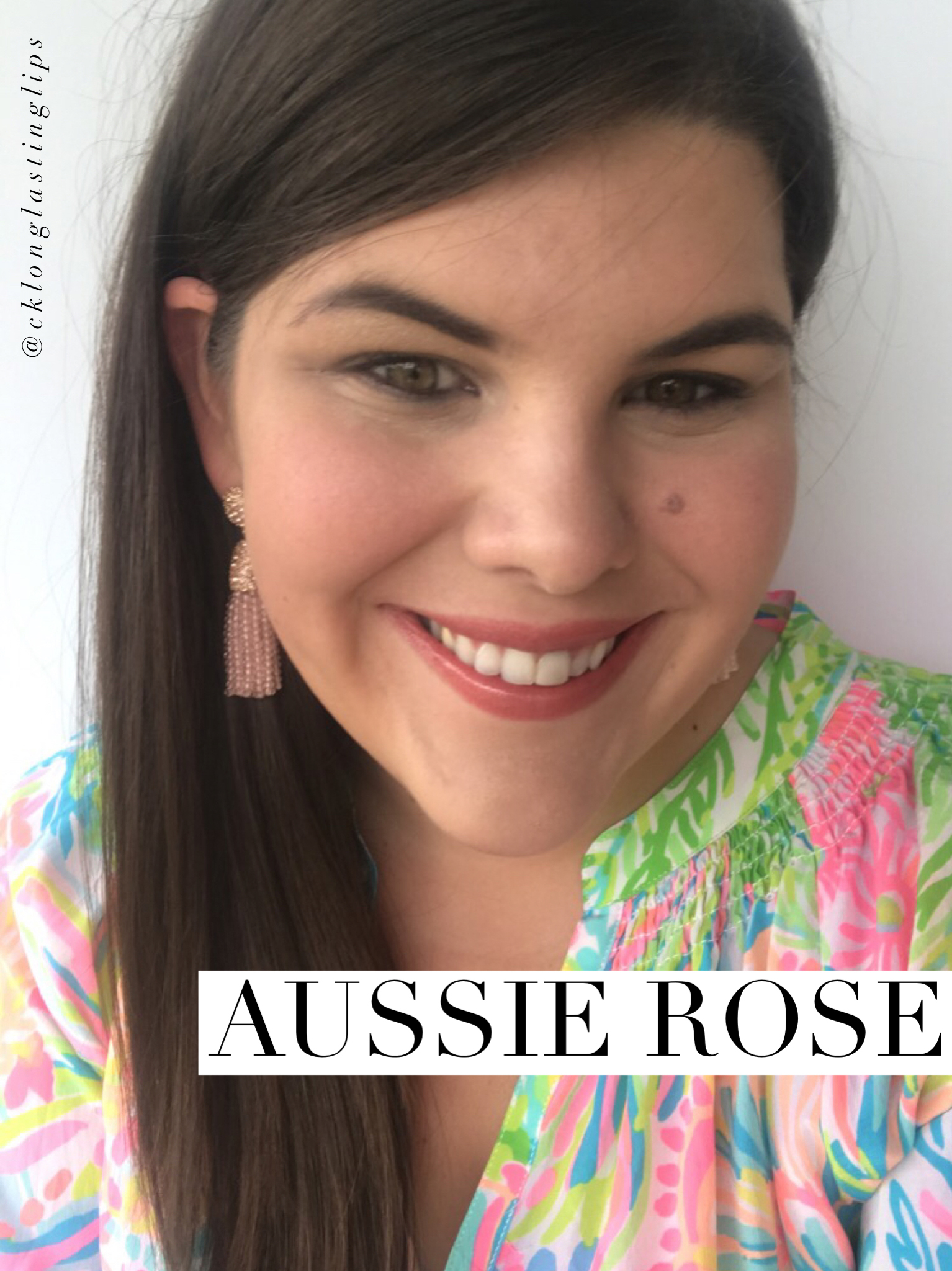 Aussie Rose LipSense - I love this long lasting lipstick. Water-proof, smudge proof & kiss proof www.carleykelley.com
