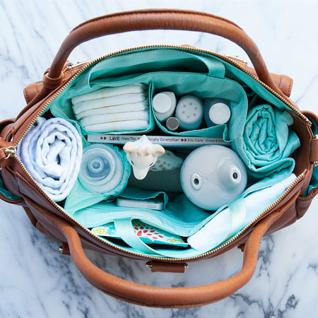 Is that not a beautiful site?! A Perfectly organized diaper bag