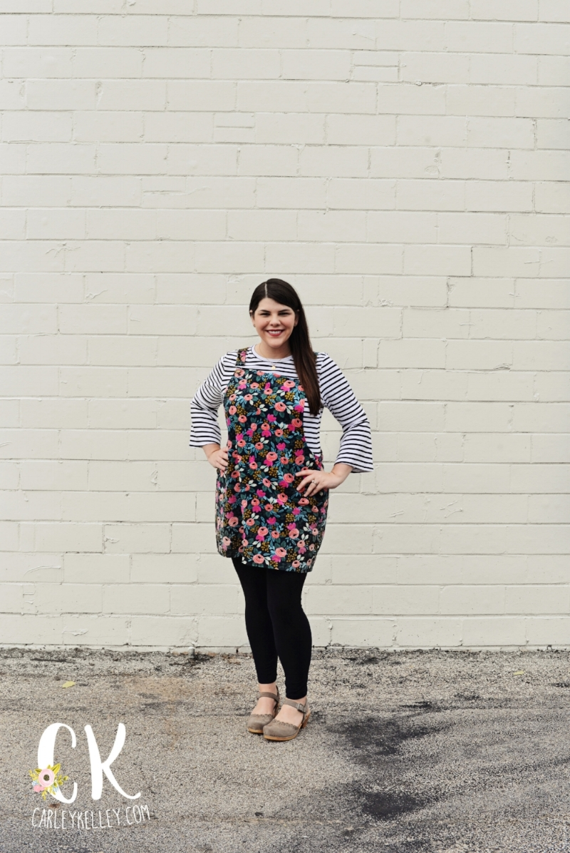 Dress Pattern  //  Fabric  //  Shirt  //  Shoes  //  Necklace  //  Leggings