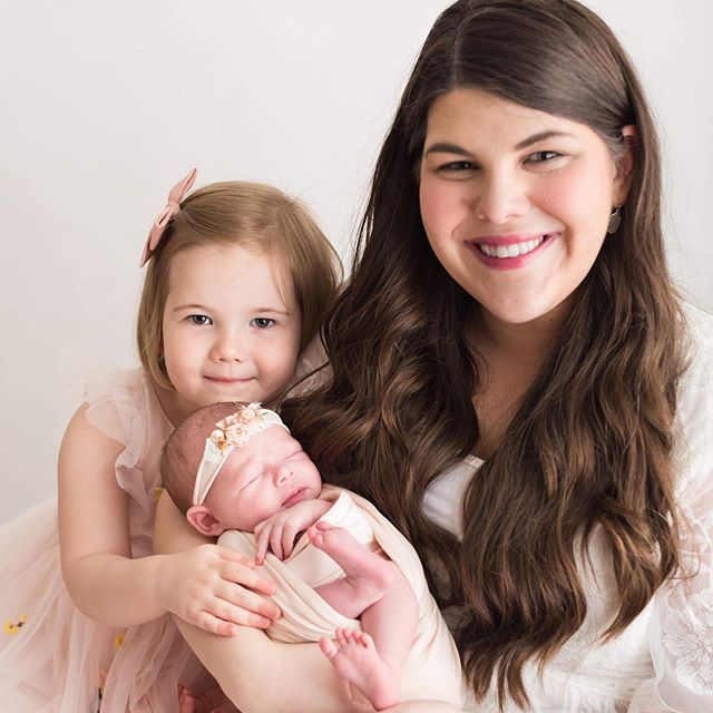 So thankful for my girls and that I get to be mama to them 💗 . . . #mama #mothersday #girlmom #newbornphotography #lucyandmaggie #newborn #ootd #motherhoodrising #fourthtrimester #shoppinkblush #motherhoodunplugged #lovelysquares #momma #nurseryinspo #magnolia #flashesofdelight #studiophotography #joyfulmamas #newmom #nurserydecor