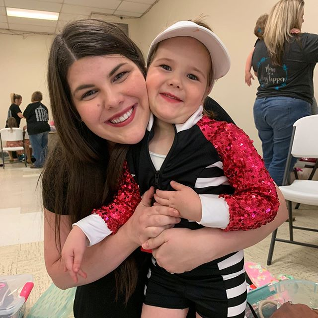 My little hip hop tot rocked her first recital yesterday 💗 . . . #reluctantdancemom #dancemom #hiphoptot #hiphop #recital #firstrecital #letthembelittle #childhoodthroughinstagram #childhoodunplugged #dance