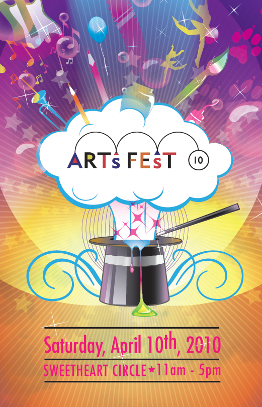Poster Design for ArtsFest