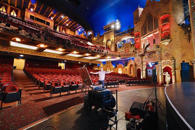Shooting portraits at the Olympia Theatre in downtown Miami today. What a beautiful venue!! #olympiatheatre #theatre #portrait #portraitphotography #portraits