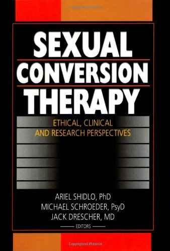 Dr. Shidlo's book on the harmful impact of sexual conversion therapy.