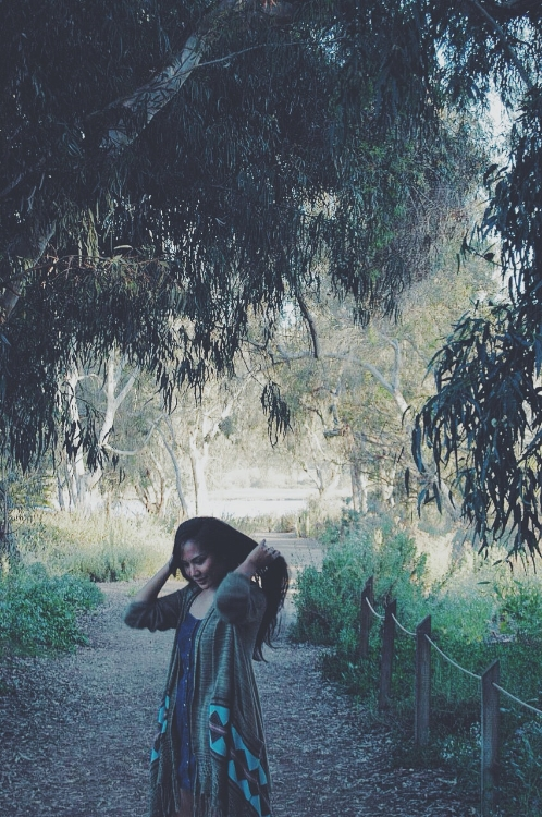I've always struggled with accepting the beauty of my natural hair. Throughout our photo shoot, I was complaining that I wish I had straightened it. Kate was so sweet and reassured me that it was beautiful the way it was. I love this photo above and how she captured my love-hate relationship with my hair.