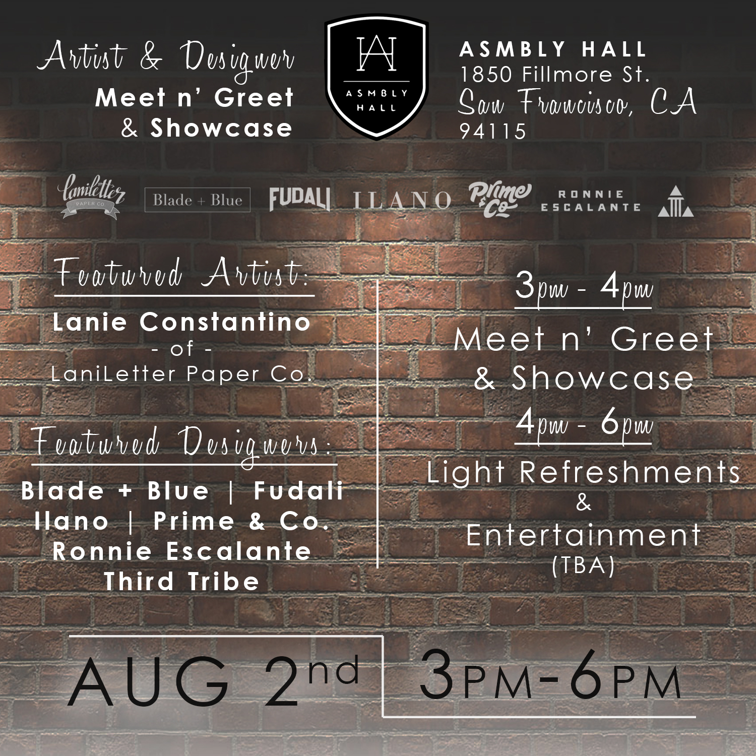 asmbly hall flyer