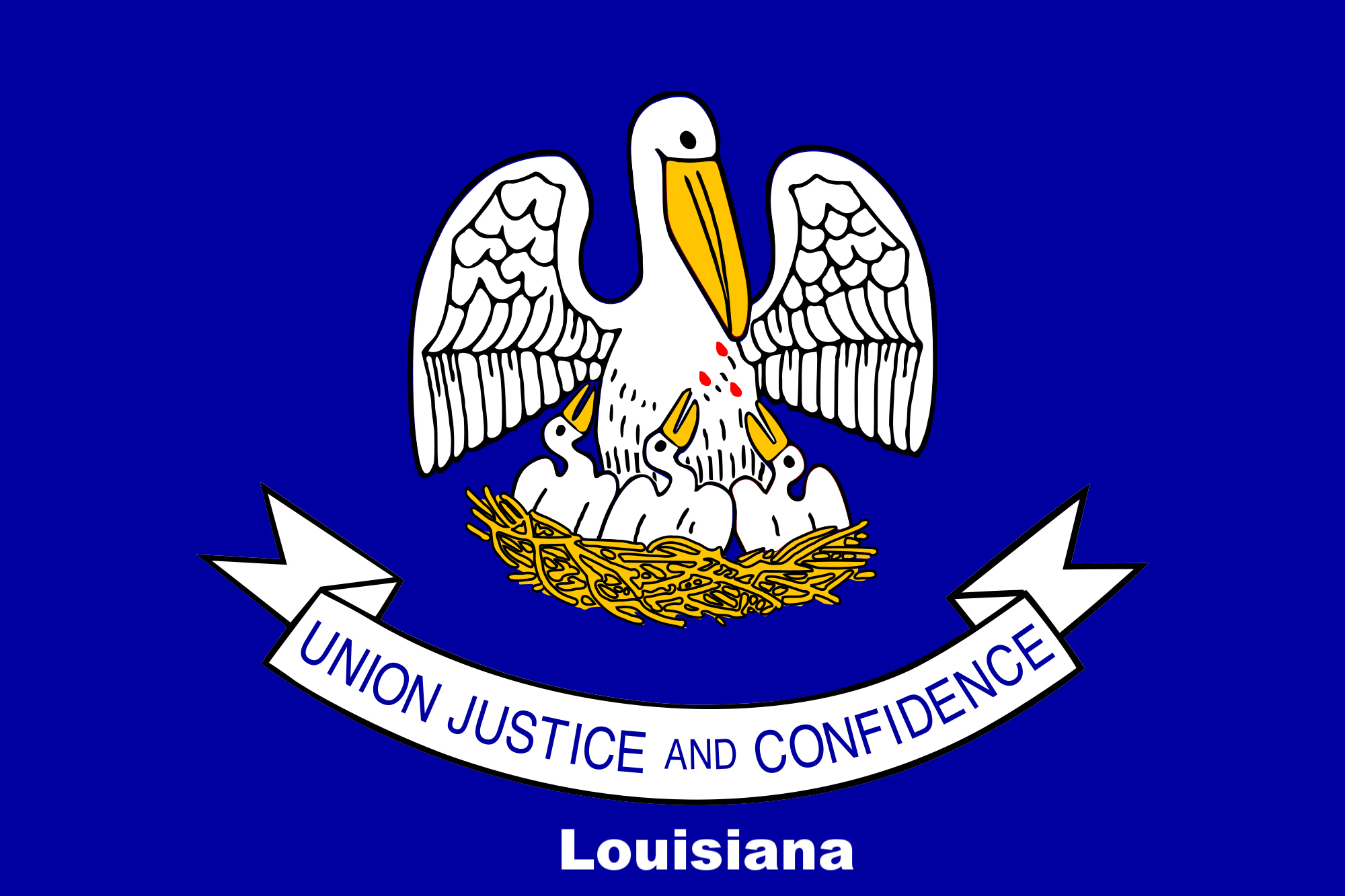 Louisiana State Flag