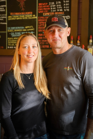 Roots Cafe was conceptualized by owners and life partners Wendy Phelps and Bill Peterson.