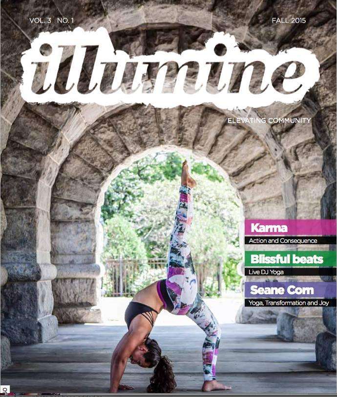 Elena Flores Rector - Illumine Magazine Cover