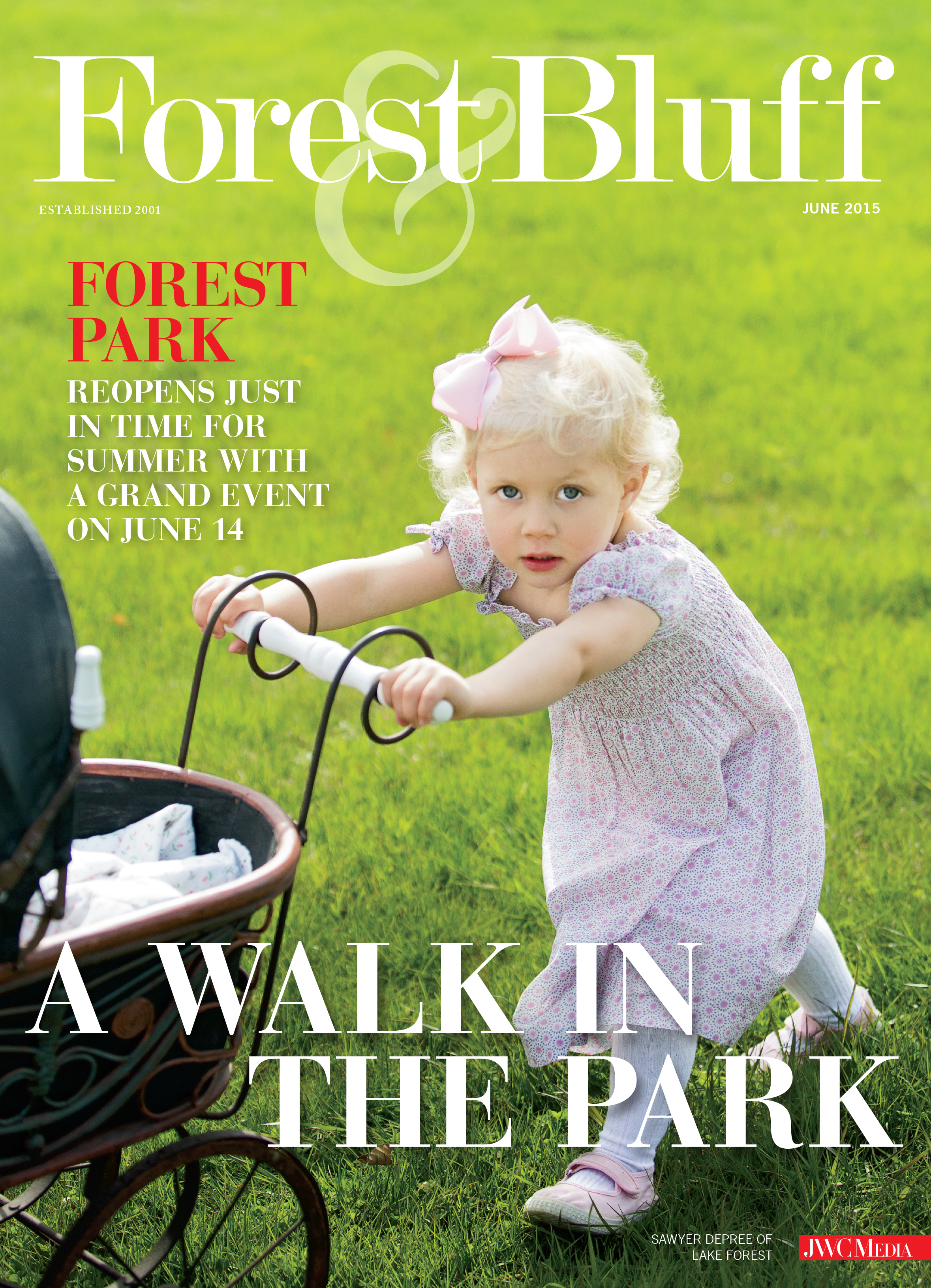 Forest & Bluff Magazine - Cover June 2015