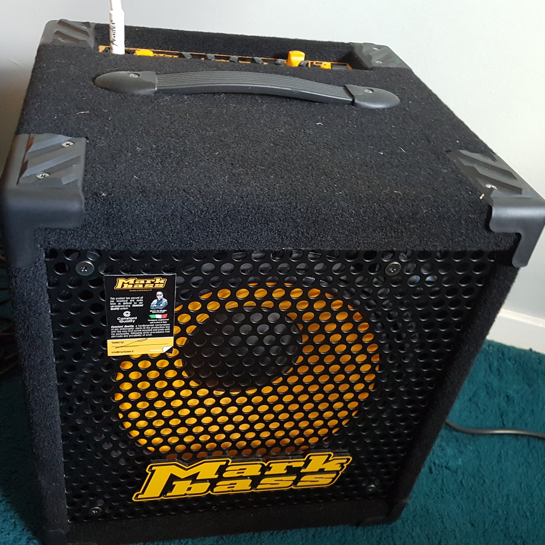 Mark Bass mini CMD 121p amplifier