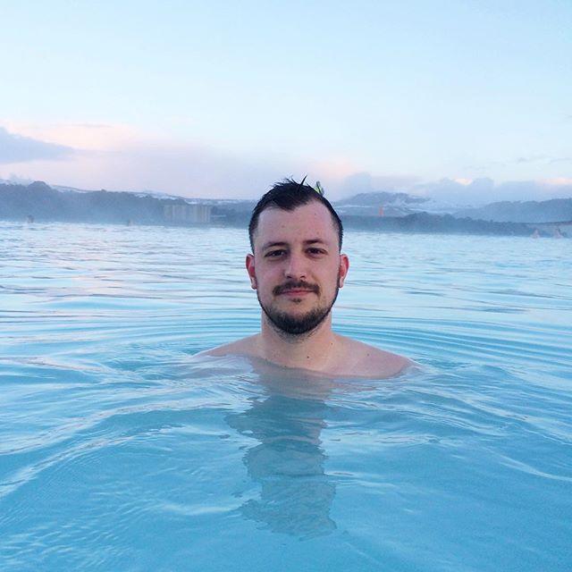 Obligatory Blue Lagoon selfie.