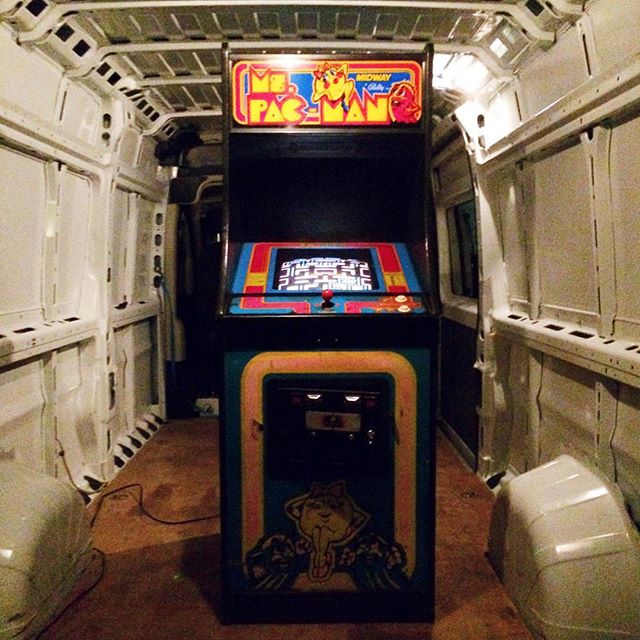 Childhood fantasy realized: I own a Ms. Pac Man arcade game.