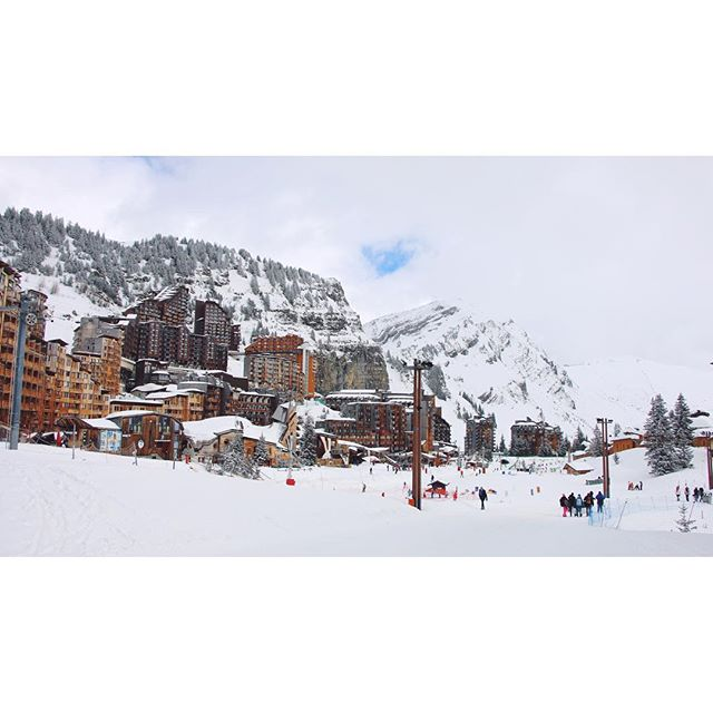 Avoriaz. #frenchalps