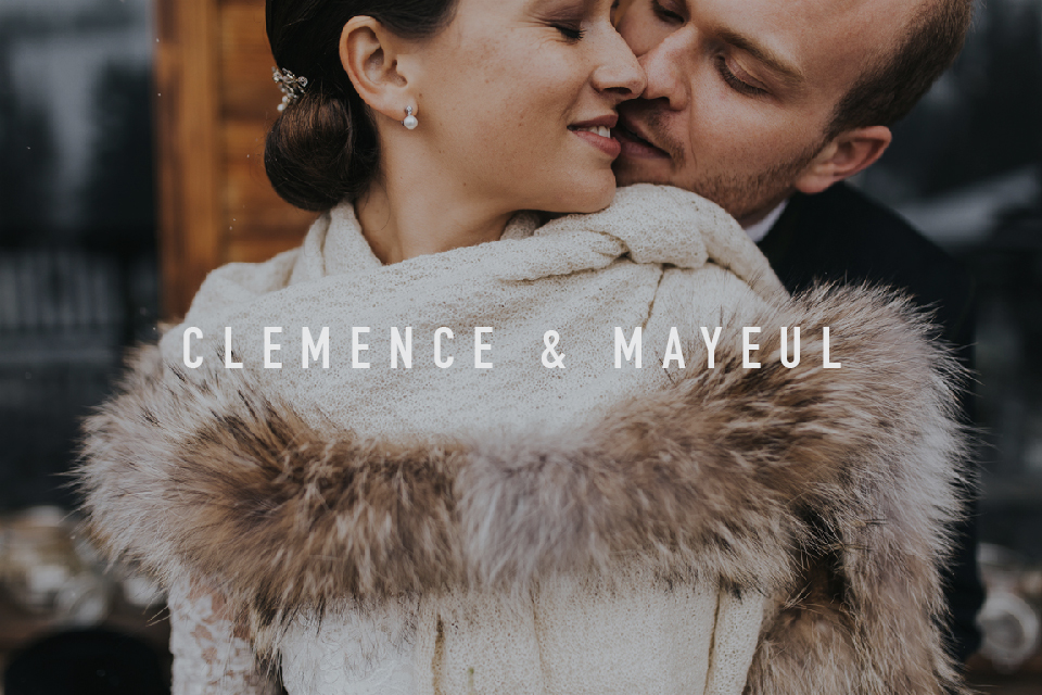 Winter Wedding french alps