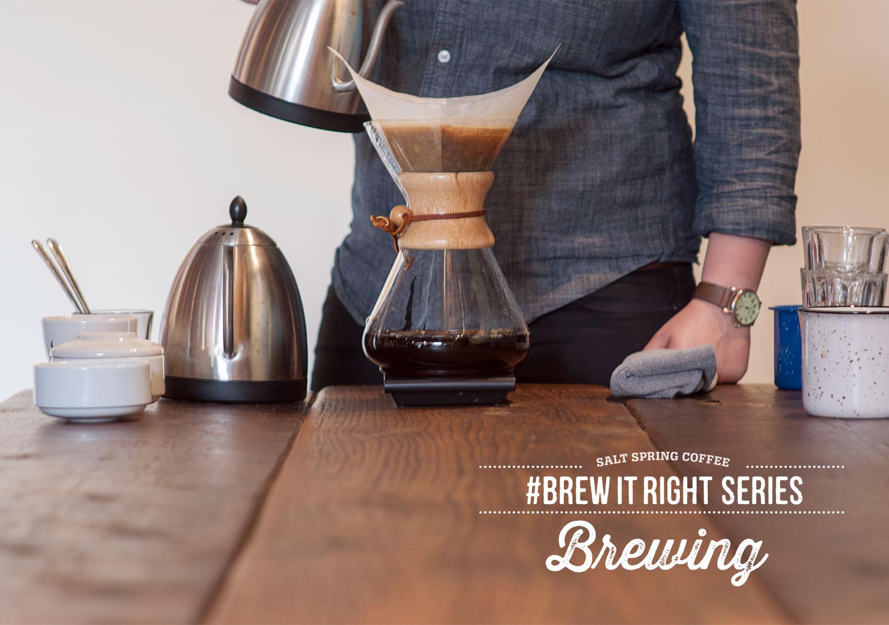 Brew It Right Video Series
