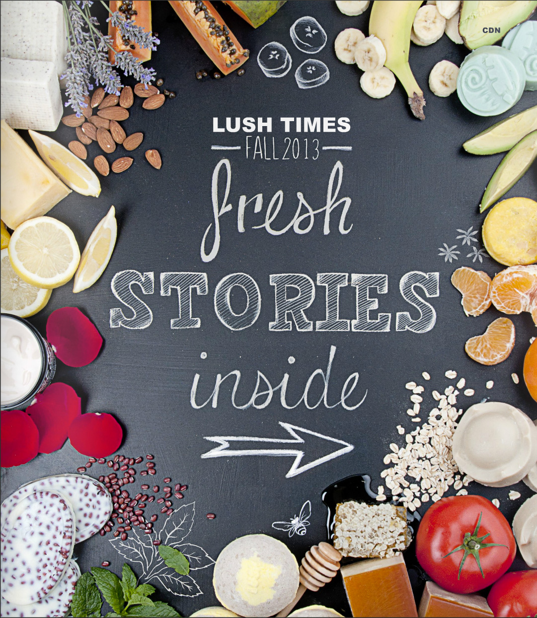 LUSH Times Cover Design + Photography