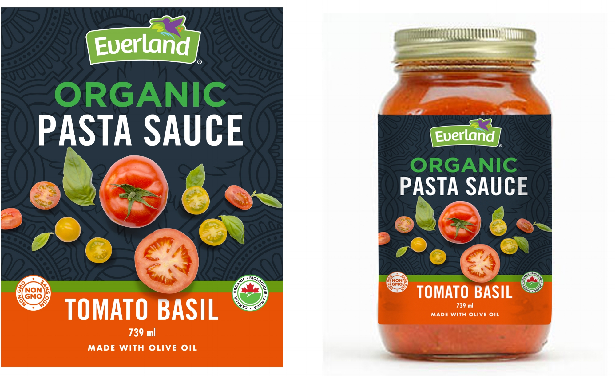 Concepts for Everland Pasta Sauce