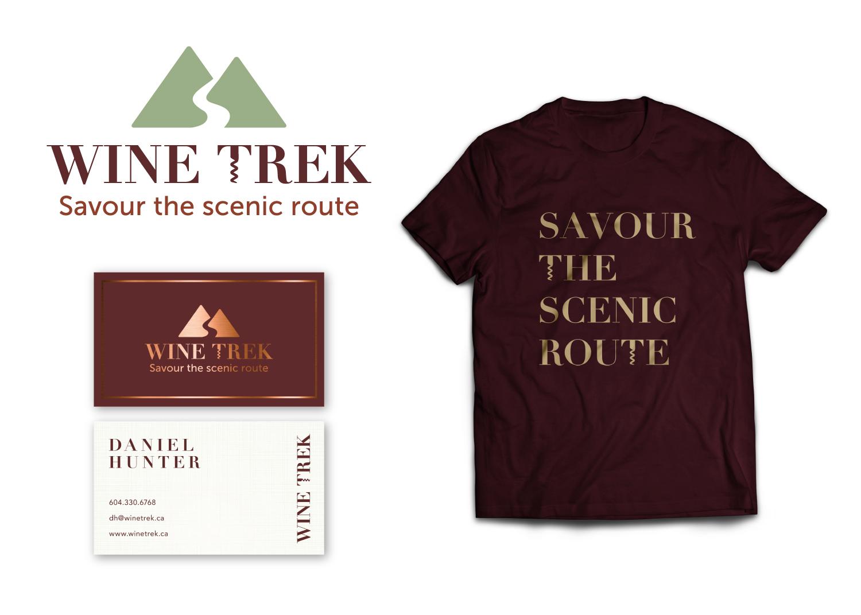 Wine Trek Branding