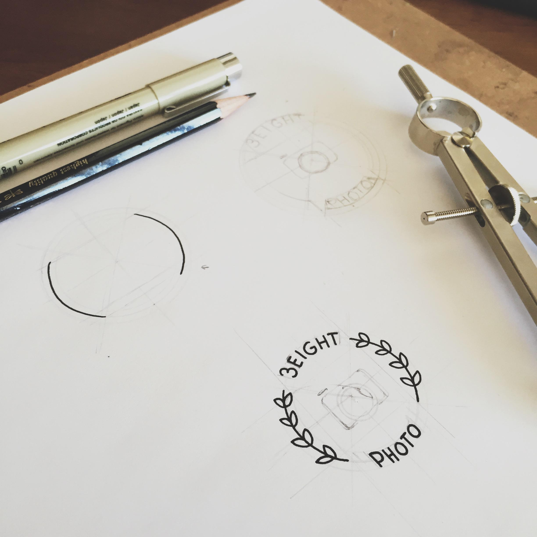 Work in progress -  38 Photography Logo & Branding