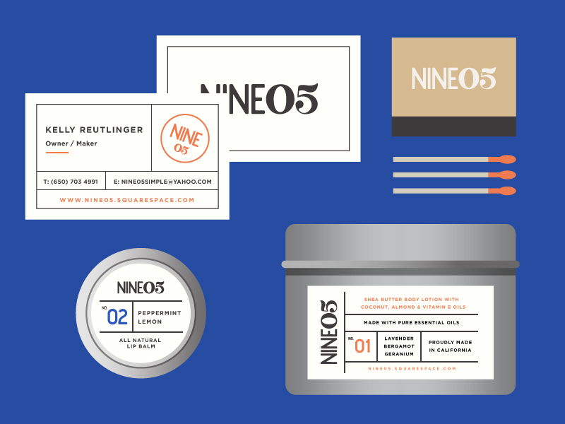 nine05_skincare_logo_label