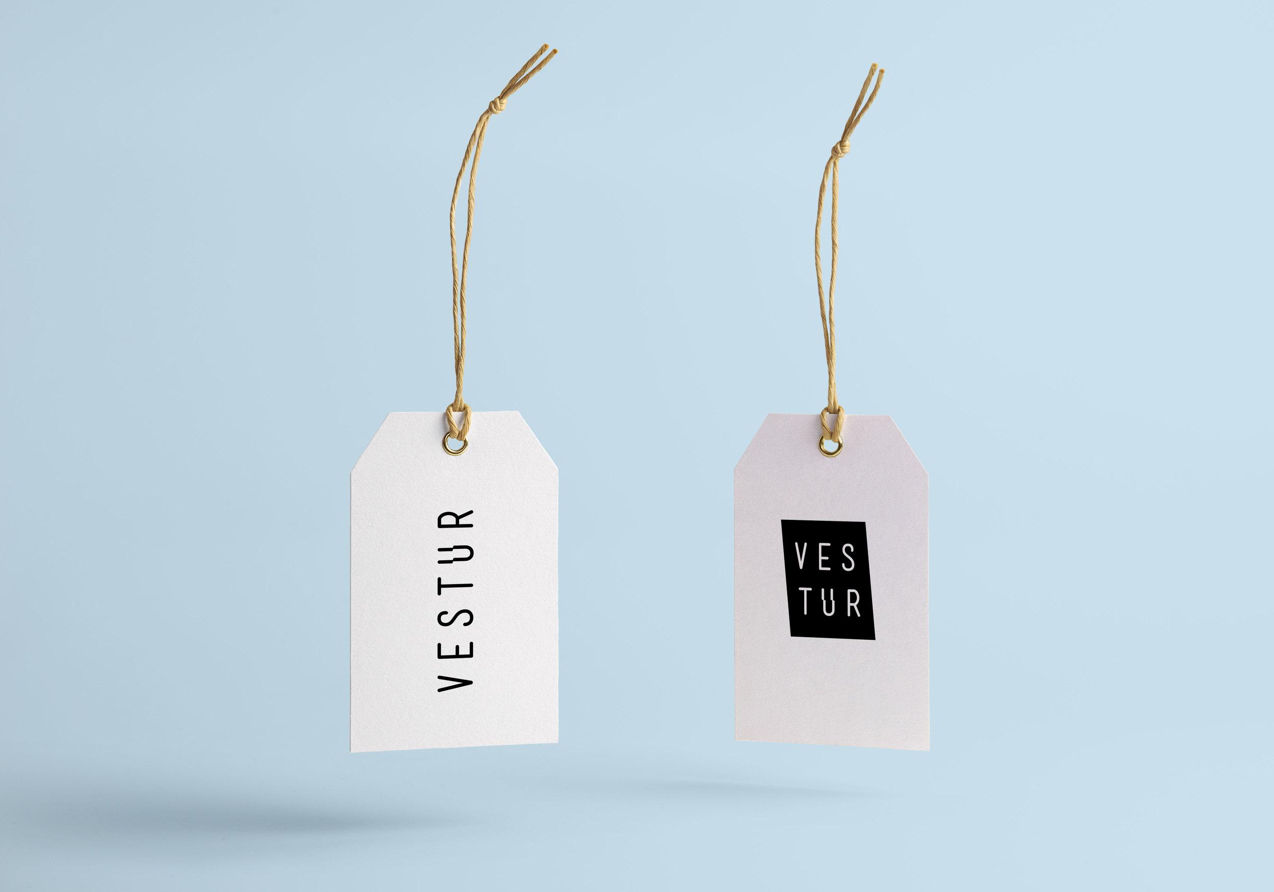 Vestur Branding Material