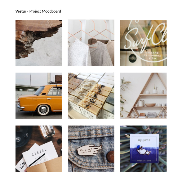 Project Moodboard