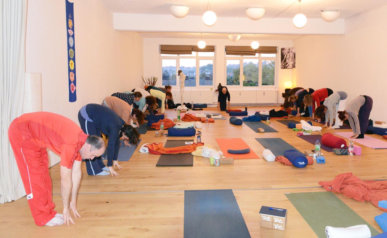 Yin Yoga & Anatomie Workshop in Yogaworx Aachen