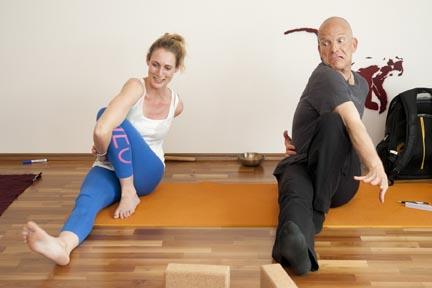 internal rotation - yin yoga skeletal variation