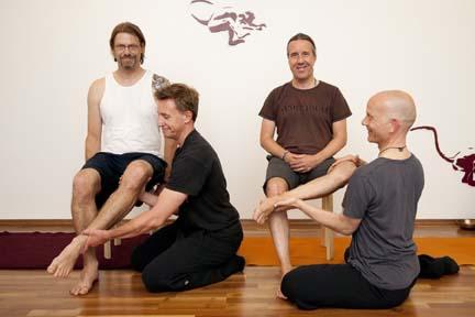 external rotation - yin yoga skeletal variation