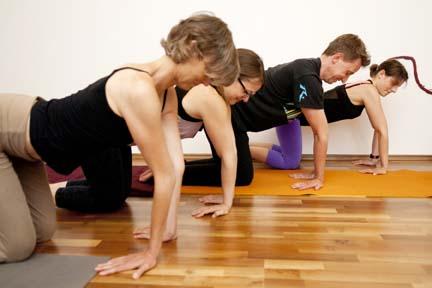 hyperextension - yin yoga skeletal variation