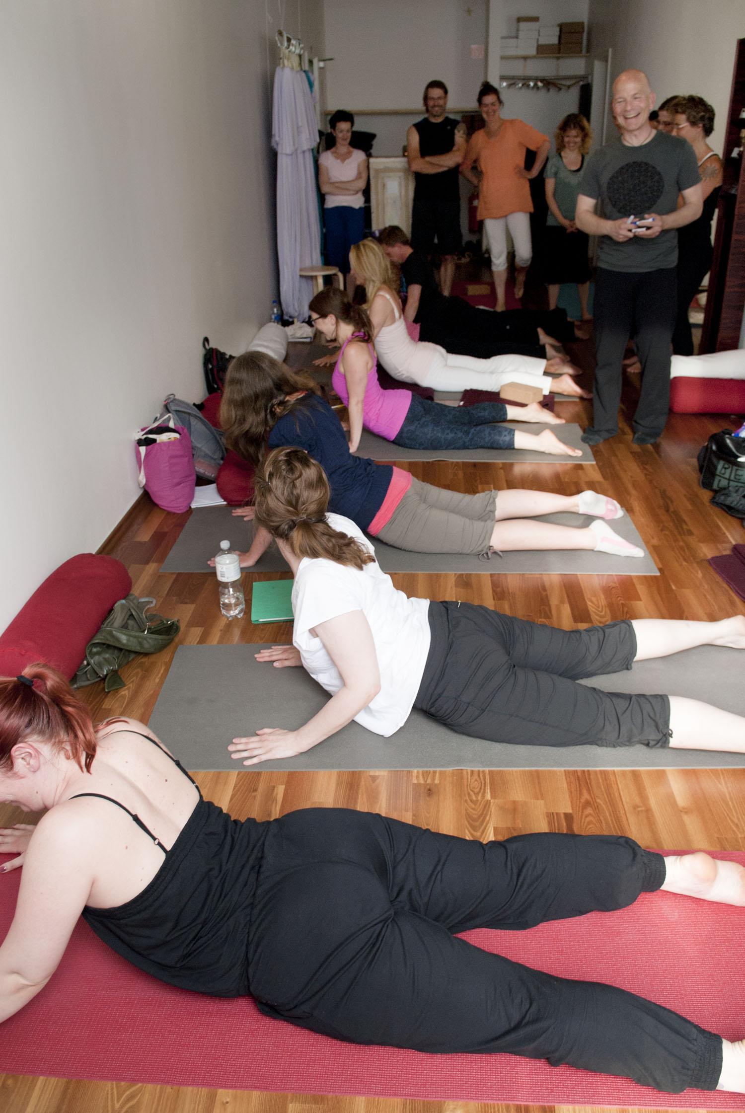 Yin Yoga & Antomie Teacher Training I in Flying Yogi Hamburg