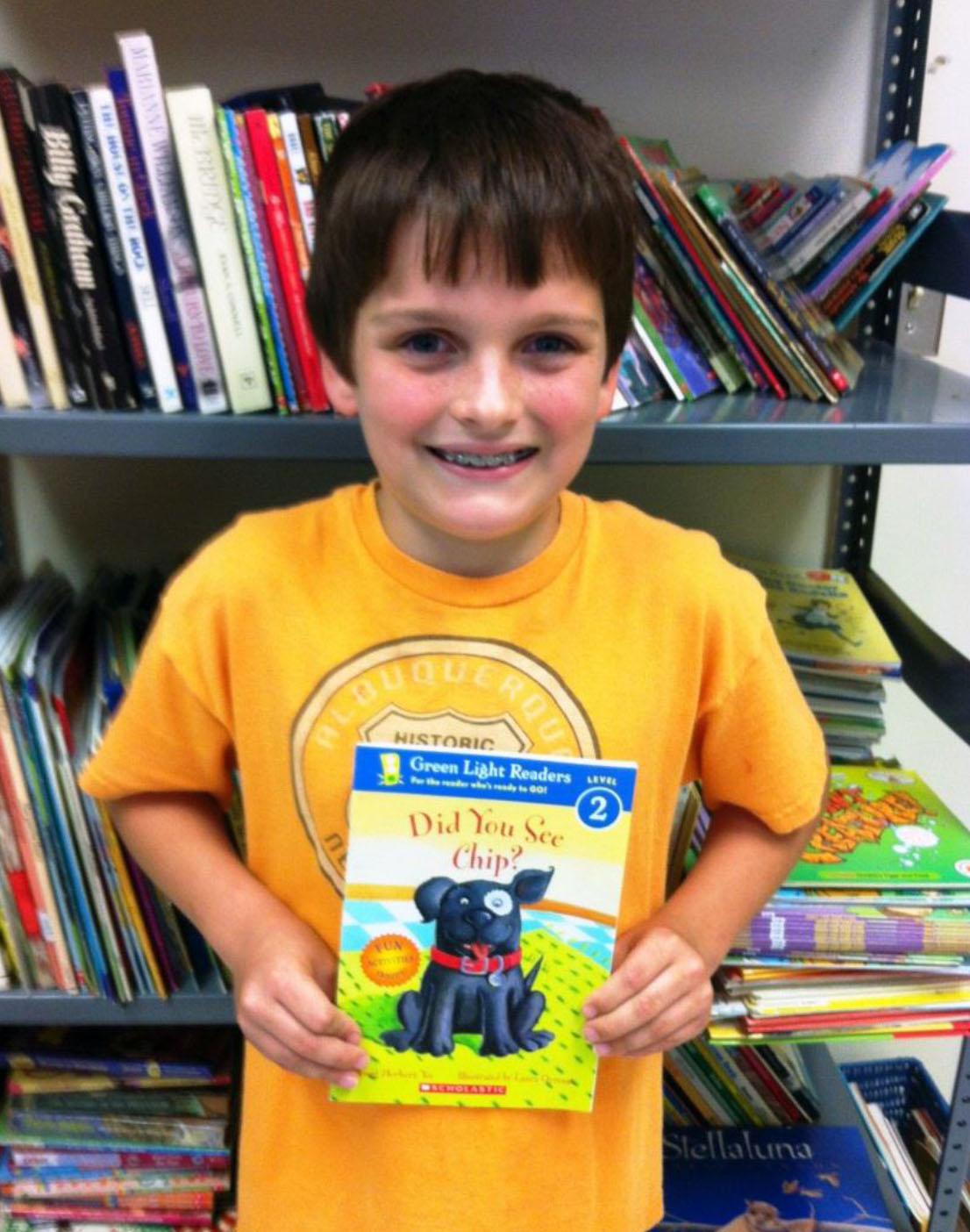 Thank you, Brendan Sandnes, for your donation of children's books to Joplin NALA Read!