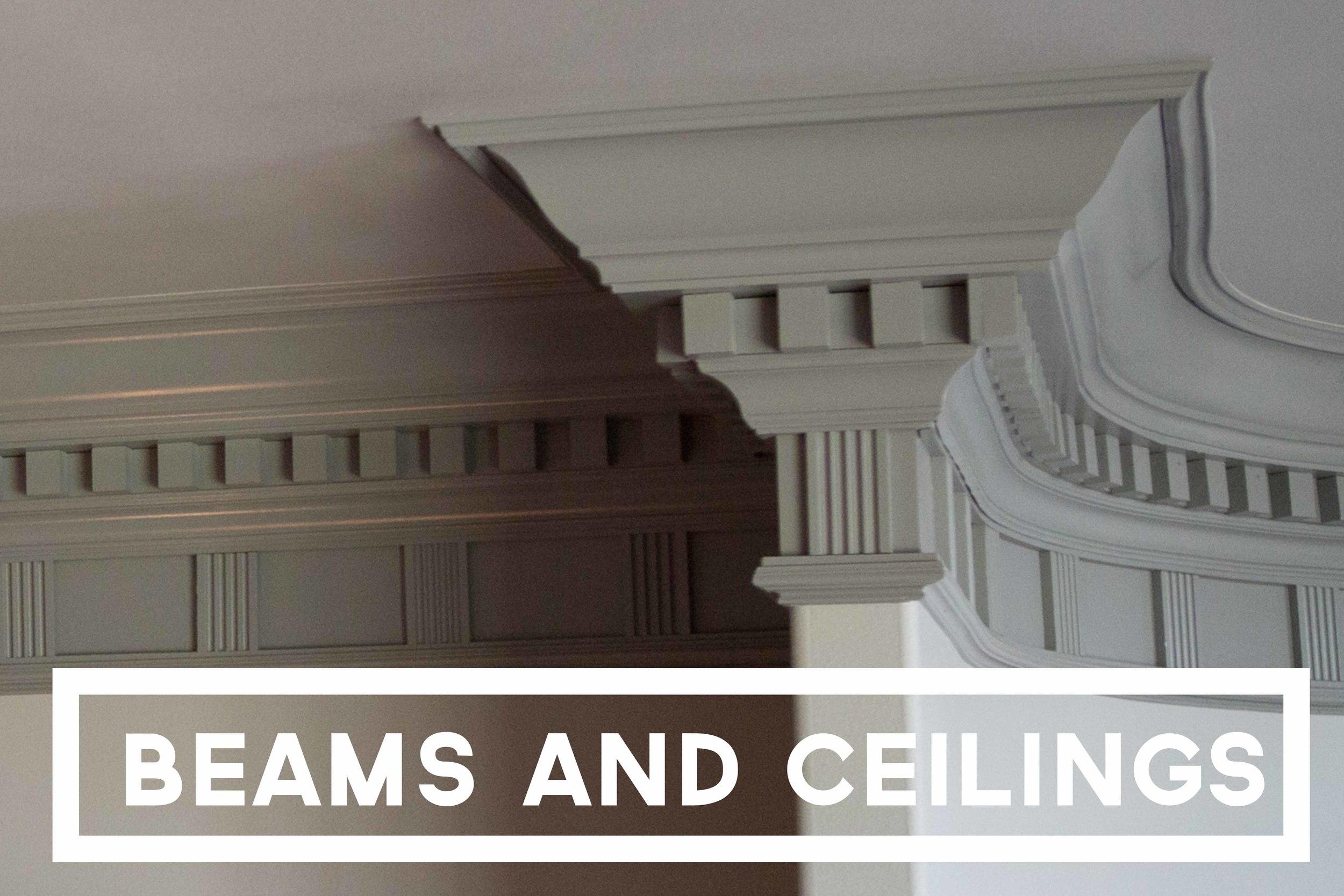 Beams and Ceilings
