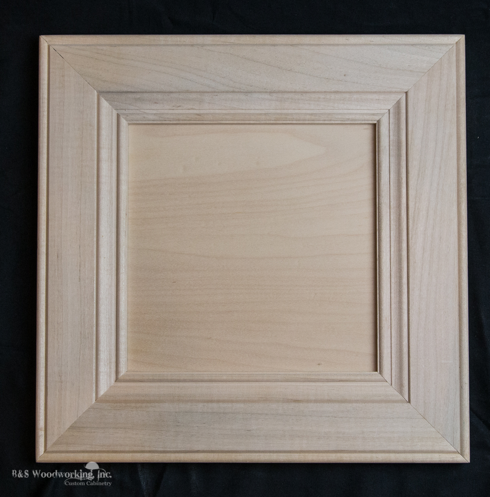 Miter Frame with Flat Panel