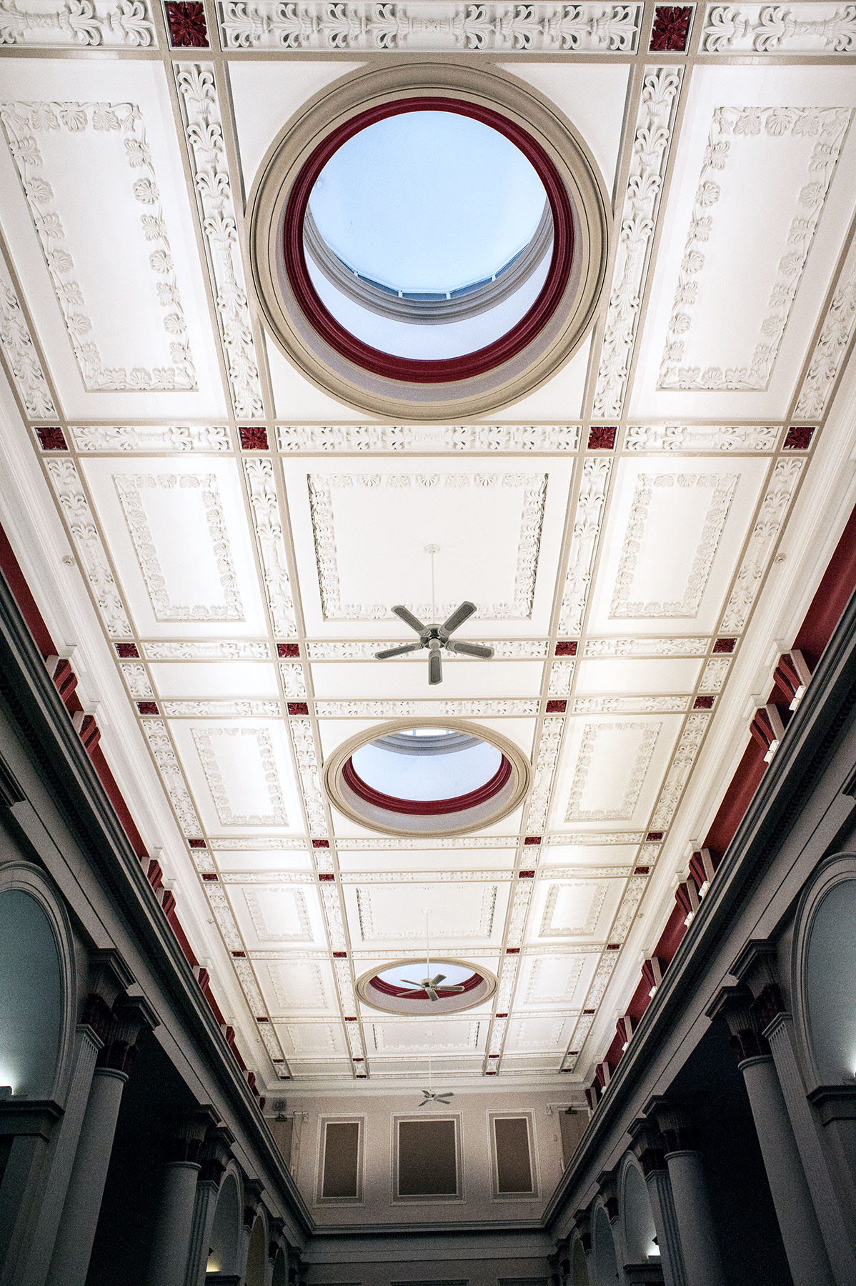 BULFINCH READING ROOM ORNAMENTAL CEILING C.1840.jpg
