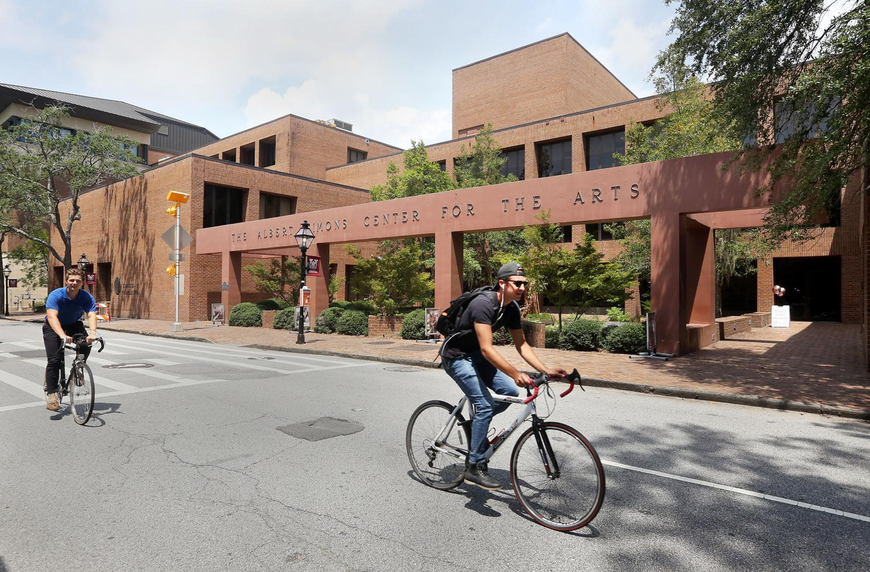 The College of Charleston's Albert Simons Center for the Arts will undergo extensive renovations beginning in the spring of 2020. Brad Nettles/Staff - Brad Nettles bnettles@postandcourier.com